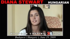 Check out this video of Diana Stewart having an audition. Erotic meeting between Pierre Woodman and Diana Stewart, a Hungarian girl.