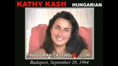 Check out this video of Kathy Kash having an audition. Erotic meeting between Pierre Woodman and Kathy Kash, a Hungarian girl.