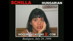 Download Schilla casting video files. Pierre Woodman undress Schilla, a Hungarian girl.