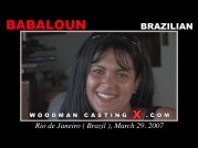 See the audition of Babaloun