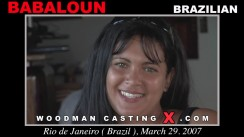 Download Babaloun casting video files. Pierre Woodman undress Babaloun, a Brazilian girl.