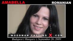 Watch our casting video of Amabella. Pierre Woodman fuck Amabella, Romanian girl, in this video.