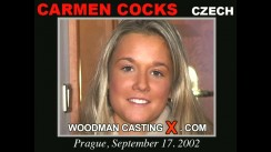 Look at Carmen Cocks getting her porn audition. Erotic meeting between Pierre Woodman and Carmen Cocks, a Czech girl.