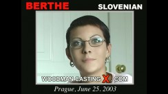 Watch our casting video of Berthe. Erotic meeting between Pierre Woodman and Berthe, a Slovenian girl.