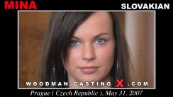 Check out this video of Mina having an audition. Erotic meeting between Pierre Woodman and Mina, a Slovak girl.