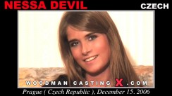 Download Nessa Devil casting video files. Pierre Woodman undress Nessa Devil, a Czech girl.