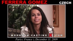 Check out this video of Ferrera Gomez having an audition. Erotic meeting between Pierre Woodman and Ferrera Gomez, a Czech girl.