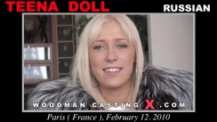 Check out this video of Teena Doll having an audition. Erotic meeting between Pierre Woodman and Teena Doll, a Russian girl.