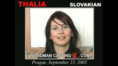 Look at Thalia getting her porn audition. Erotic meeting between Pierre Woodman and Thalia, a Slovak girl.