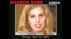 Watch Sharon Babe first XXX video. Pierre Woodman undress Sharon Babe, a Czech girl.