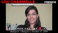 Watch Lou Charmelle first XXX video. A French girl, Lou Charmelle will have sex with Pierre Woodman.