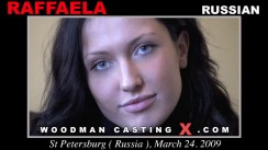 Watch Raffaella first XXX video. A Russian girl, Raffaella will have sex with Pierre Woodman.