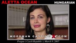 Look at Aletta Ocean getting her porn audition. Erotic meeting between Pierre Woodman and Aletta Ocean, a Hungarian girl.