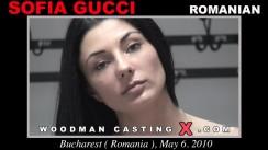 Download Sofia Gucci casting video files. Pierre Woodman undress Sofia Gucci, a Romanian girl.