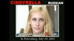 Check out this video of Cindyrella having an audition. Erotic meeting between Pierre Woodman and Cindyrella, a Russian girl.