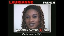 Access Laurianne casting in streaming. Pierre Woodman undress Laurianne, a French girl.