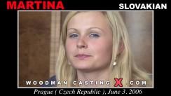 Access Martina casting in streaming. Pierre Woodman undress Martina, a Slovak girl.