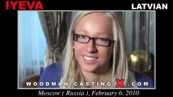 Look at Iyeva getting her porn audition. Erotic meeting between Pierre Woodman and Iyeva, a Latvian girl.
