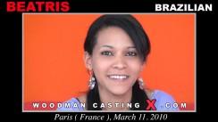 Download Beatris casting video files. Pierre Woodman undress Beatris, a Brazilian girl.