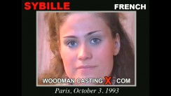 Watch Sybille first XXX video. Pierre Woodman undress Sybille, a French girl.