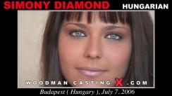 Access Simony Diamond casting in streaming. Pierre Woodman undress Simony Diamond, a Hungarian girl.