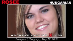 Download Rosee casting video files. A Hungarian girl, Rosee will have sex with Pierre Woodman.