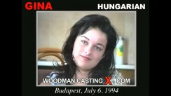 Look at Gina getting her porn audition. Erotic meeting between Pierre Woodman and Gina, a Hungarian girl.