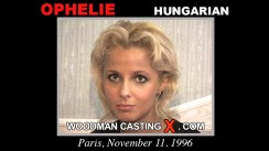 Access Ophelie casting in streaming. Pierre Woodman undress Ophelie, a Hungarian girl.