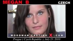 Watch Megan B first XXX video. Pierre Woodman undress Megan B, a Czech girl.