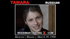 Download Tamara casting video files. Pierre Woodman undress Tamara, a Russian girl.
