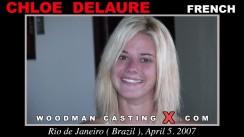 Download Chloe Delaure casting video files. Pierre Woodman undress Chloe Delaure, a French girl.