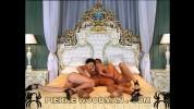 Svetlana and Solange - hard - bed + 1 boy
