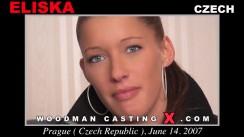 Download Eliska casting video files. Pierre Woodman undress Eliska, a Czech girl.