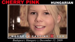 Download Cherry Pink casting video files. Pierre Woodman undress Cherry Pink, a Hungarian girl.