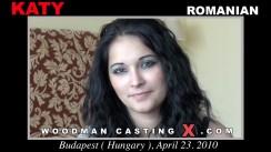 Download Katy casting video files. Pierre Woodman undress Katy, a Romanian girl.