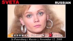 Look at Sveta getting her porn audition. Erotic meeting between Pierre Woodman and Sveta, a Russian girl.
