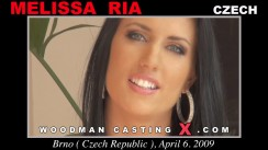 Watch our casting video of Melissa Ria. Pierre Woodman fuck Melissa Ria, Czech girl, in this video.