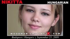 Download Nikitta casting video files. Pierre Woodman undress Nikitta, a Hungarian girl.
