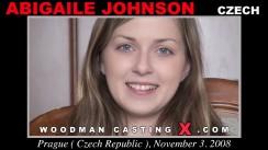 Download Abigaile Johnson casting video files. Pierre Woodman undress Abigaile Johnson, a Czech girl.