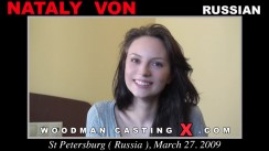 Look at Nataly Von getting her porn audition. Pierre Woodman fuck Nataly Von, Russian girl, in this video.