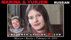 Look at Marina & Yurjen getting her porn audition. Pierre Woodman fuck Marina & Yurjen, Russian girl, in this video.