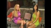 Barbara and Nataly - hard - sofa + 2 boys