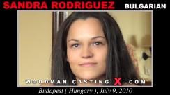Watch Sandra Rodriguez first XXX video. Pierre Woodman undress Sandra Rodriguez, a Bulgarian girl.