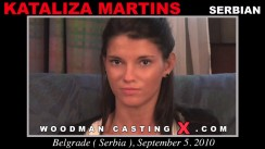 Look at Kataliza Martins getting her porn audition. Erotic meeting between Pierre Woodman and Kataliza Martins, a Serbian girl.