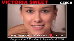 Watch Victoria Sweet first XXX video. A Czech girl, Victoria Sweet will have sex with Pierre Woodman.