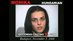Access Monika casting in streaming. Pierre Woodman undress Monika, a Hungarian girl.