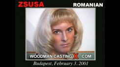 Download Zsuza casting video files. Pierre Woodman undress Zsuza, a Romanian girl.