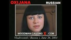 Watch our casting video of Oxijana. Erotic meeting between Pierre Woodman and Oxijana, a Russian girl.