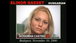Watch our casting video of Elinor Gasset. Erotic meeting between Pierre Woodman and Elinor Gasset, a Hungarian girl.