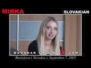 Casting of MIRKA video